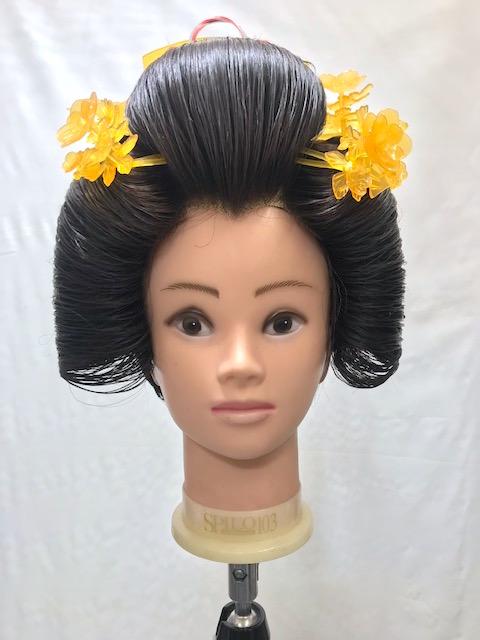 日本髪かつらレンタル
